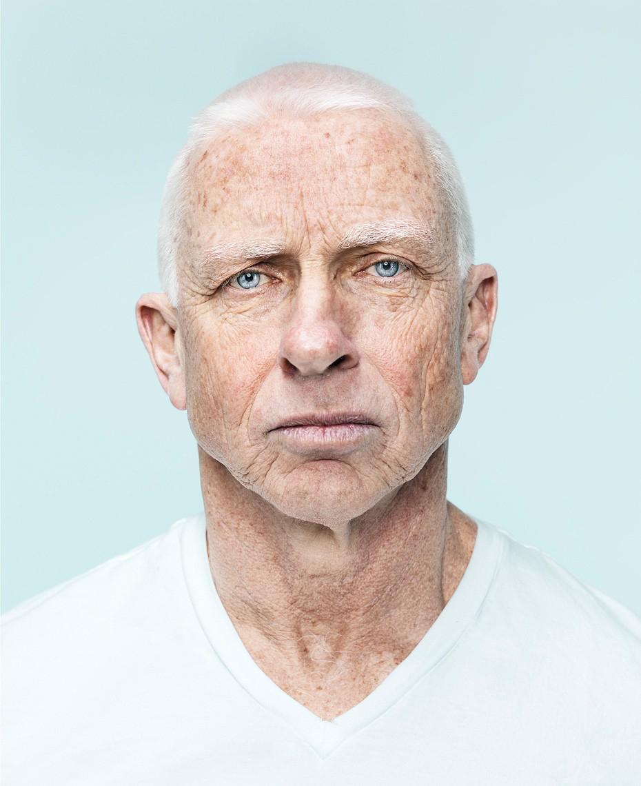 Portrett eldre mann